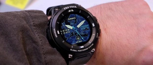 Casio WSD F20 Часы операционной системы Андроид