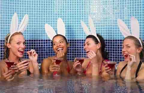 8 марта в бане