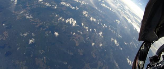 Туризм на МИГ-29 в стратосферу