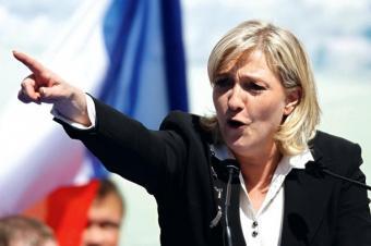Мари Ле Пен плюнула в лицо Меркель и ей аплодировал весь ЕС