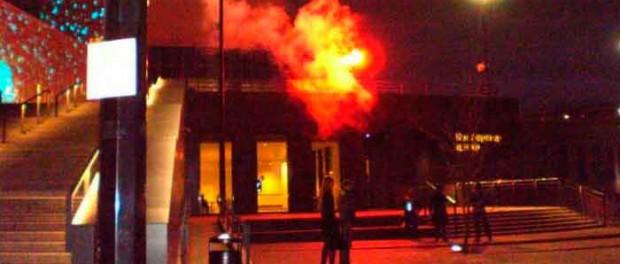 Ельцин центр пытались поджечь