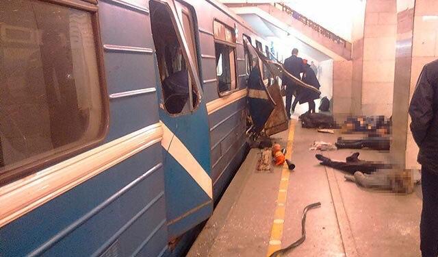 фото теракты санкт -петербурге