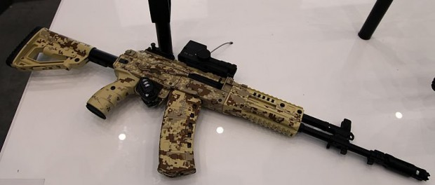 Новая штурмовая винтовка АК-12 прошла испытания