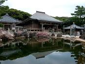 Храм Геконго в городе Тосасимидзу, Сикоку, Япония