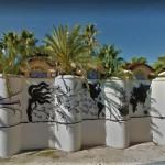 Скульптурная стена Вида де лас Палмерас, Испания, фото
