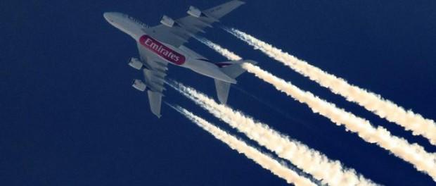 Как самолеты изменяют климат