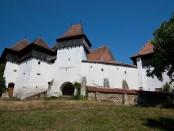 viscri крепость, церковь