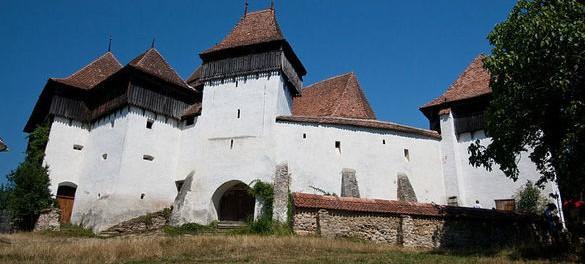 Крепостная церковь Вискри