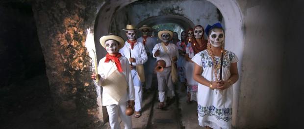 День мертвых в Юкатане