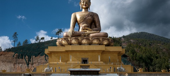 Статуя Будды Дорденма в Тхимпху