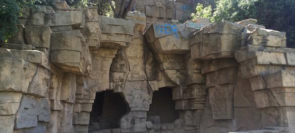 Разрушенные зоопарки в Лос-Анджелеса