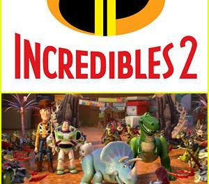 Дисней и Pixar раскрывают новые «Incredibles 2» и «История игрушек 4»
