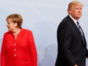 Трамп и Меркель обиделись друг на друга