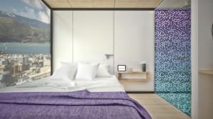 Hyperloop Hotel, гостиница, отель, контейнеры