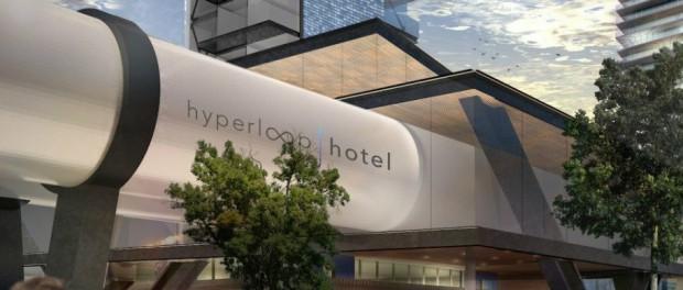 Hyperloop Hotel: гостиница из контейнеров