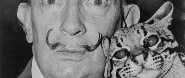 Усы Сальвадора Дали все еще не повреждены