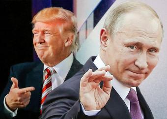 Трамп и Путин будут сообща мочить фашистов на Украине
