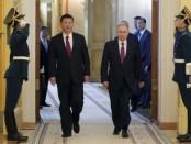 Путин и китайский лидер