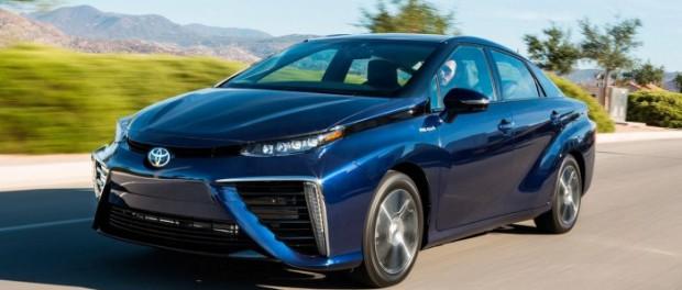 Тайота выпустила автомобиль на водородном двигателе