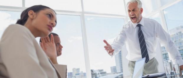 Что делать, если ваш босс накричал на вас