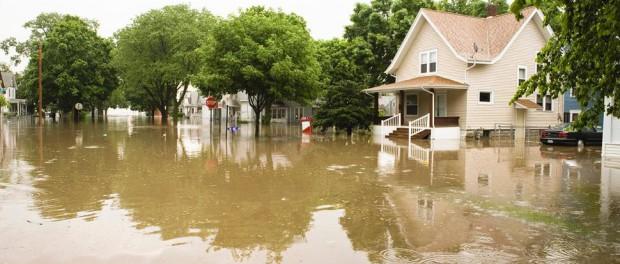 Как высушить свой дом после наводнения