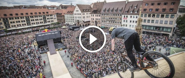 Ничоли Рогаткин делает мировой рекорд на горном велосипеде