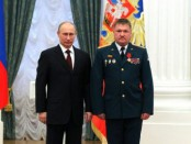 Генерал-лейтенант Валерий Асапов (справа), погибший в бою под Deir el-Zour 24 сентября 2017 года