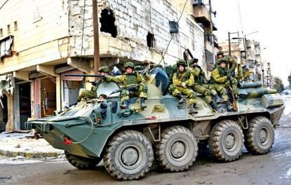 Военная полиция РФ мочит боевиков в Идлибе