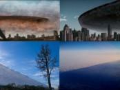 Огромный объект НЛО закрыл небо над США