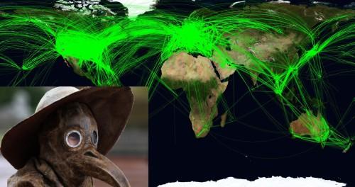 Вспышка бубонной чумы распространяется на весь мир