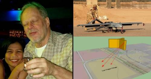 В Лас Вегасе толпу расстреляли дроны?