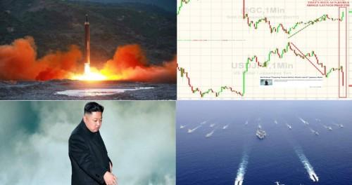 Войны не избежать. Северная Корея запускает заключенный ракетный тест