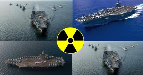 4-й авианосец приближается к Северной Корее
