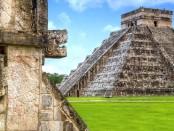 Пирамиды Майя скрытый проход