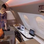 фото Airbus A380 люкс комнаты