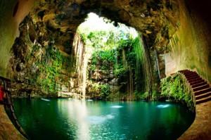 Cenote сеноте Майя