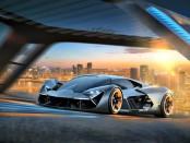 Lamborghini электрический суперкар