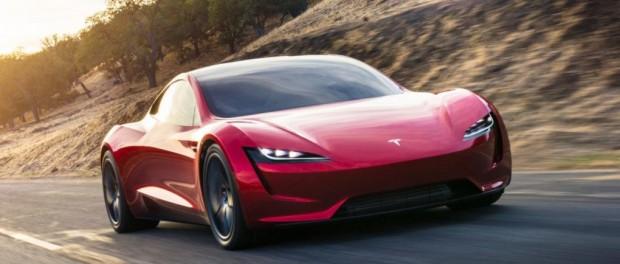 Тесла удивил мир новым автомобилем Tesla Roadster