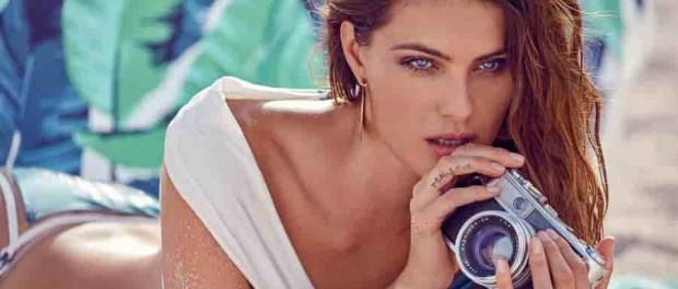 Изабели Фонтана рекламирует красивые купальники