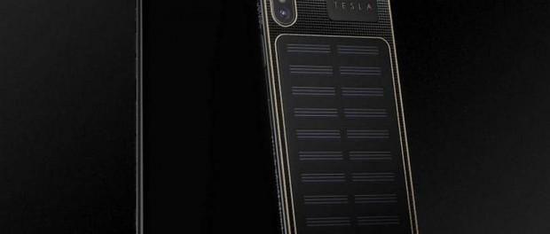 Россия переделала iPhone Х в супер iPhone Х Tesla