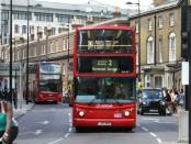 Лондонский двухэтажный автобус