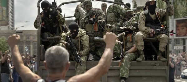 И все же мятеж, Луганск входят войска (видео)