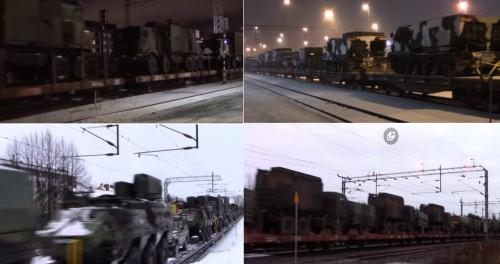 Финляндия по ночам перебрасывает бронетехнику к границам России