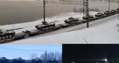 Россия перебрасывает войска