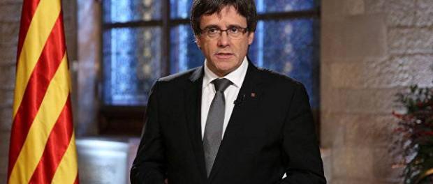 Триумфальное возвращение Пучдемона в Каталонию
