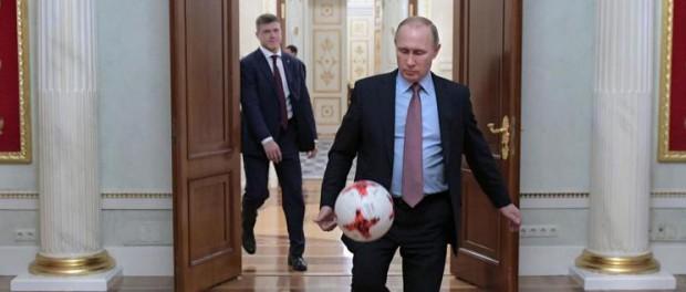 Путин играет по хитрому на Олимпиаде 2018