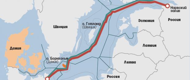 Россия уже разнесла Данию по Северному потоку 2