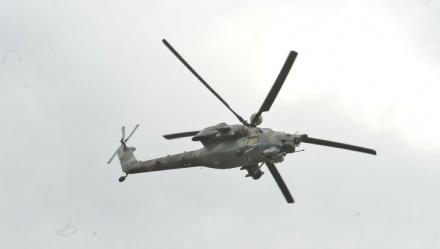 МИ-8 наносит удары по пригороду Восточной Гуты