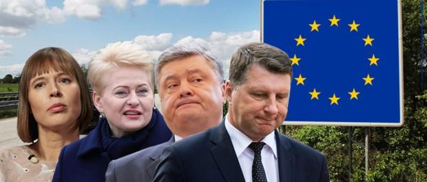 Прибалтика превратилась в прачечную, где ЕС стирает свои грязные тряпки