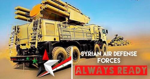 «Панцирь -С» отбил ракетную атаку Израиля в Сирии